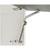 Hafele Maxi Series Swing-Up Fitting Lid Stay Set, Nickel