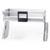 Hafele iMove Pull Down Unit, Single Shelf, Silver/White
