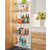 """Hafele Tandem Solo Champagne Frame For 18"""" Frameless Cabinet Width, 16-3/4"""" W x 44-3/4"""" H"""