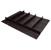 "Hafele ""Fineline"" Multipurpose Cutlery Tray Insert, Black Ash, 27-5/8"" W x 20-13/16"" D x 1-15/16"" H, For Drawer Width 30"" W"