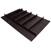 "Hafele ""Fineline"" Multipurpose Cutlery Tray Insert, Black Ash, 33-9/16"" W x 20-13/16"" D x 1-15/16"" H, For Drawer Width 36"" W"