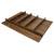 """Hafele """"Fineline"""" Multipurpose Cutlery Tray Insert, Walnut, 27-5/8""""W x 20-13/16""""D x 1-15/16""""H"""