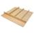 "Hafele ""Fineline"" Multipurpose Cutlery Tray Insert, Birch, 21-9/16""W x 20-13/16""D x 1-15/16""H"