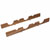 Hafele Fineline Wine Storage Rack, Mahogany Finish