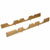 Hafele Fineline Wine Storage Rack, White Oak Finish