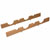 Hafele Fineline Wine Storage Rack, Cherry Finish
