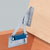 Hafele Lid Stay - Bench Seat Hinge, Yellow Chromated
