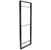 """Hafele YouK Ladder Jet Black Shelving System, 12-5/8"""" D x 87"""" H"""
