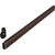 Hafele Oval Wardrobe Tube, with Supports, Aluminum, Dark Oil-Rubbed Bronze