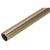 "Hafele Synergy Elite Round Wardrobe Rail, w/ Clear Insert, Matt Gold, 1-5/16"" Dia. x 8'"
