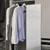 Hafele Elite Closet Pull-Out Mirror, Matt Aluminum Frame