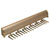 "Hafele ""Synergy Elite"" Collection Telescopic Tie Rack, 18 Hooks, Matt Gold, for Door or Side of Wardrobe Mounting"