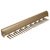 "Hafele ""Synergy Elite"" Collection Telescopic Tie Rack, 24 Hooks, Matt Gold, for Door or Side of Wardrobe Mounting"