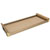 Hafele Engage Pull-Out Shelf, Matt Gold Frame with Beach Fabric