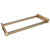 Hafele Engage Laundry/Pant Rack Pull-Out Frame, Matt Gold