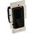 """Hafele Lutron Stand Alone Diva Paddle Wall Dimmer Switch, Compact Florescent-LED (CL), Plastic, Black, 150 Watt, 4-1/2""""W x 2-3/16""""D x 2-1/4""""H (115x55x57mm)"""