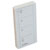 """Hafele Remote Control for Diva Wall Dimmer Switch, Caseta PRO, Plastic, White, 1-5/16""""W x 5/16""""D x 2-5/8""""H (33x8x67mm)"""