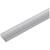 "Hafele Designer LOOX Surface Mounted Extrusion Profile, Aluminum, 2m (78-3/4"") Length, 19mm D x 8mm H (3/4"" x 5/16"")"