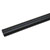 "Hafele LOOX LED Cable Management Extrusion Channel for Surface Mounting, 96"" (2438mm) Length, Black, Plastic with Adhesive Tape"