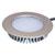 Hafele Loox LED 12V 2020 3.2W White 3000K - 6000K Recessed Round, Zinc Alloy, Nickel-Plated Matt or Black, IP44