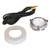 Hafele LOOX 12V #2025 Round Puck Light Kit with 1 LED, 90 CRI