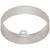 Hafele HA-833.77.730 Loox LED 24V 3010 Surface Mount Ring Round, Aluminum, Silver Anodized