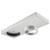 Hafele HA-833.77.731 Loox LED 24V 3010 Surface Mount Housing, Aluminum, Silver Anodized