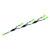 """Hafele LOOX 24V LED 4-way Extension Lead, 6500mm (213-7/8""""), Plastic, Black"""