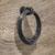 Hafele Ring Pull in Black Antique