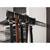 """Hardware Resources Double Hook Belt Rack, 14"""", Dark Bronze"""