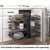 Hardware Resources Full 15'' W Brushed Nickel Blind Corner Organizer Lifestyle View