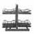 Hardware Resources Full 18'' W Brushed Nickel Blind Corner Organizer Display View