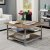 "Home Styles Barnside Metro Square Coffee Table, Driftwood, 36"" W x 36"" D x 20-1/4"" H"