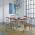 """Home Styles Orleans 5-Piece Dining Set, Includes Dining Table, (4) Dining Side Chairs, Caramel, 60"""" W x 38"""" D x 30"""" H"""