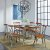 """Home Styles Orleans 7-Piece Dining Set, Includes Dining Table, (6) Dining Side Chairs, Caramel, 60"""" W x 38"""" D x 30"""" H"""