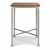 "Home Styles Orleans Caramel Wood Top Bar Table, Grey, 30""W x 30""D x 42""H"