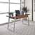 "Home Styles Degree Home Office Desk, Modern Brown, 54""W x 24""D x 30""H"