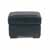 "Home Styles Alex Upholstered Contemporary Ottoman, Black, 24-1/4""W x 20-1/2""D x 17-1/4""H"