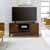 "Home Styles Bungalow Low Profile Entertainment Stand, Medium Brown, 54""W x 18""D x 24""H"