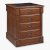 """Home Styles Aspen Collection Storage Island in Rustic Cherry, 30"""" W x 30-1/2"""" D x 36-1/4"""" H"""