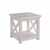 """Home Styles Seaside Lodge End Table, White, 22""""W x 22""""D x 22""""H"""