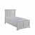 "Home Styles Seaside Lodge Twin Bed, White, 46""W x 83""D x 50""H"