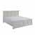 "Home Styles Seaside Lodge King Bed, White, 83""W x 89""D x 50""H"