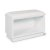 """Home Styles Linear Collection Storage Bench in White, 28"""" W x 15"""" D x 19"""" H"""
