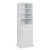 """Home Styles Linear Collection Storage Drawer Unit in White, 25"""" W x 20"""" D x 82-1/2"""" H"""