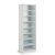 """Home Styles Linear Collection Storage Open Unit in White, 25"""" W x 20"""" D x 82-1/2"""" H"""