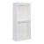 """Home Styles Linear Collection Storage Hanging Unit in White, 36"""" W x 20"""" D x 82-1/2"""" H"""