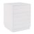 "Home Styles Linear Collection Storage Island Unit in White, 30"" W x 30"" D x 36-1/4"" H"