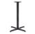 John Boos 2000 Series 2025B-40 Dining Height Table Base
