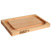 John Boos Chop-N-Slice Collection Reversible 12'' x 8'' x 1'' Thick, with Groove, Pairing Knife & Packet of Board Cream , Maple Edge Grain
